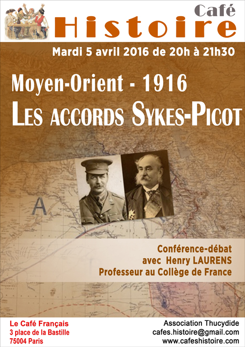 14-18 : les accords Sykes-Picot
