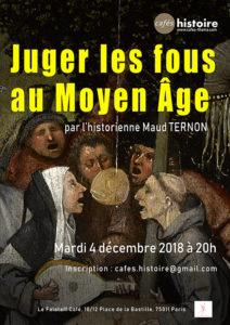 Juger les fous au Moyen Âge - Café Histoire