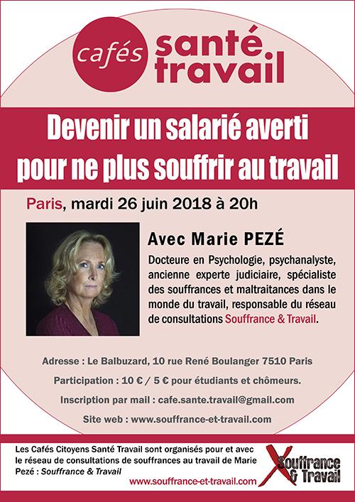Devenir un salarié averti pour ne plus souffrir au travail - Marie Pezé