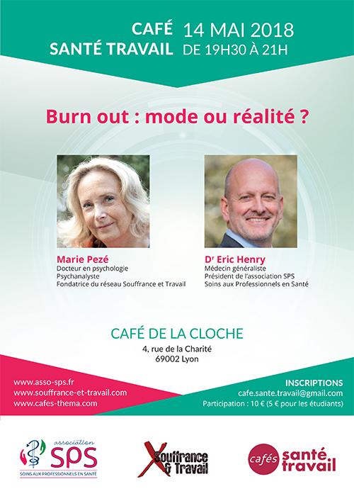 Burn-out : café Santé Travail à Lyon