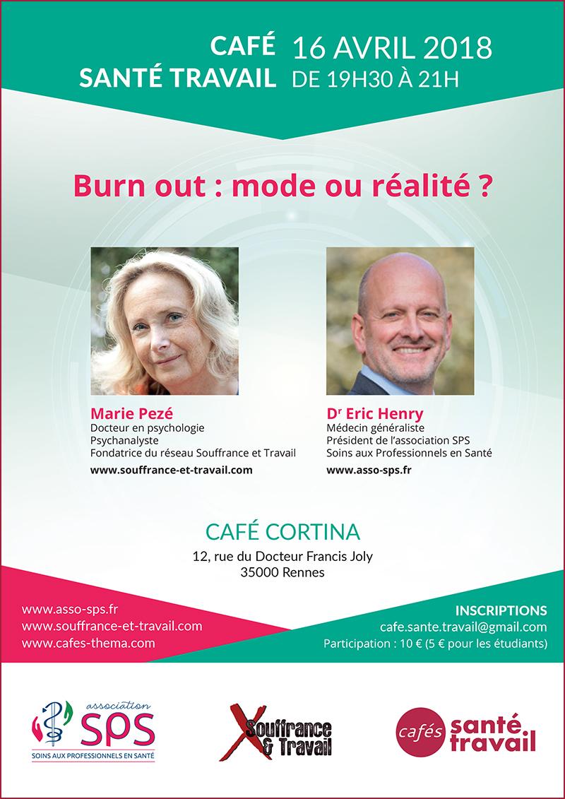 Rennes 2018 : Burn-out, mode ou réalité ?