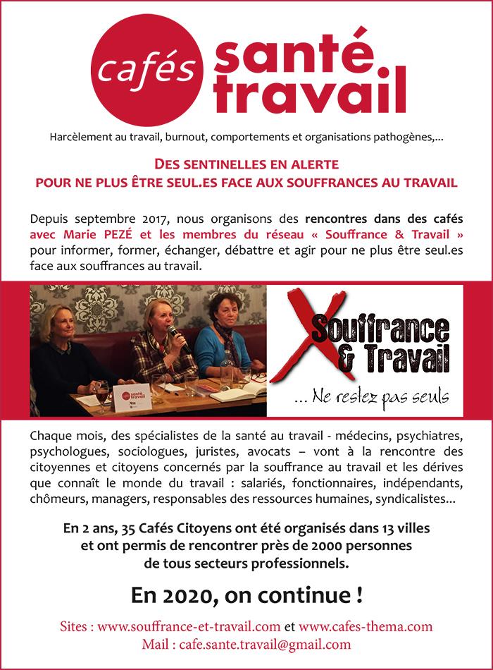 Cafes Santé Travail 2020