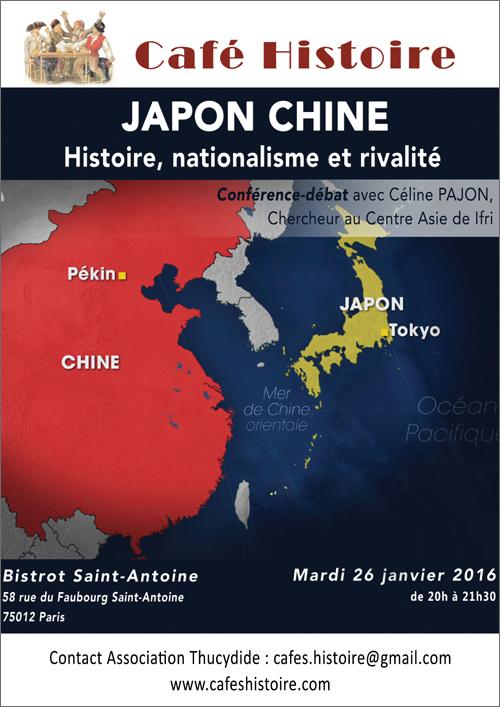 Café Histoire sur les relations Japon-Chine