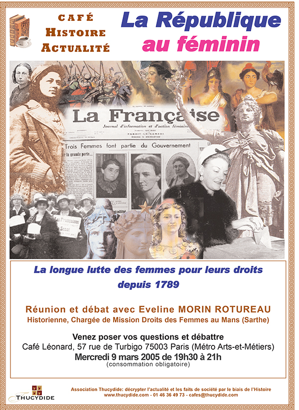 La République et les femmes - Café Histoire