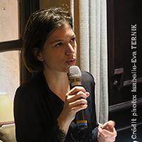 Christelle MAZZA - Café Santé Travail sur le procès France Télécom - Crédit photo: Isabelle-Eva TERNIK