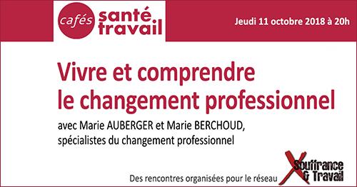 Café Santé Travail sur le changement professionnel