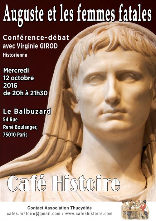 Auguste et les femmes fatales - Café Histoire