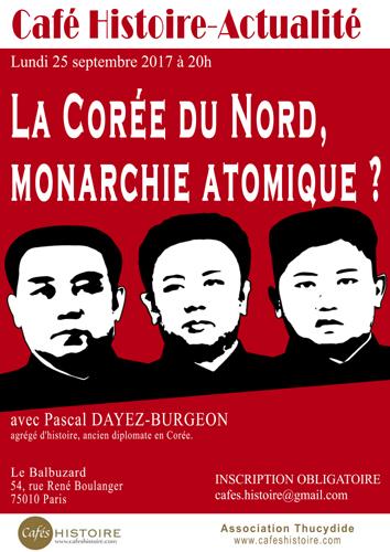 La Corée du Nord, monarchie atomique ? Café Histoire