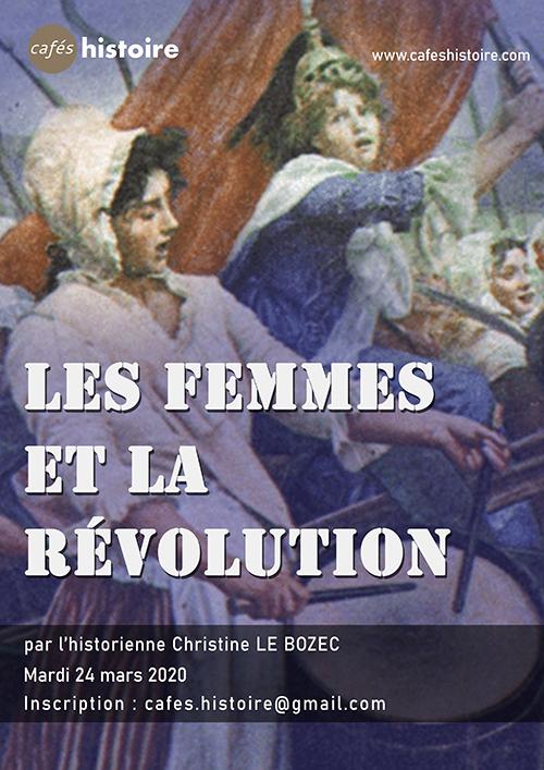 Les femmes et la Révolution - Café Histoire Christine LE BOZEC