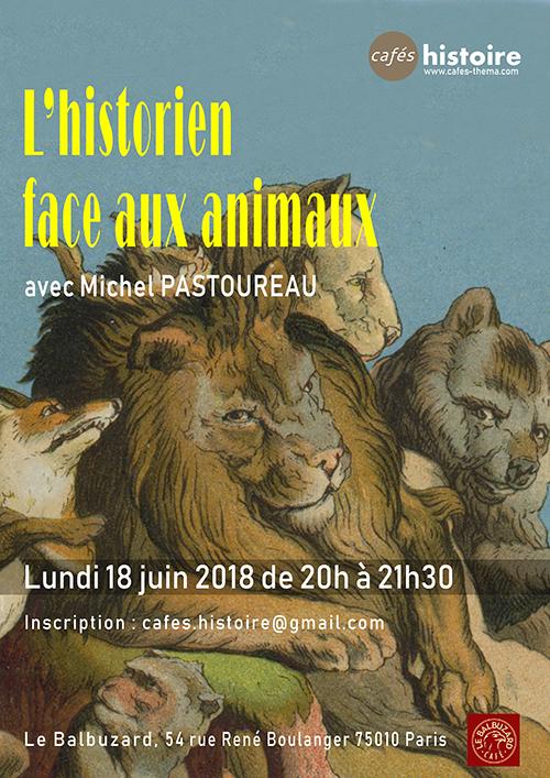 L'historien face aux animaux - Café Histoire avec Michel Pastoureau