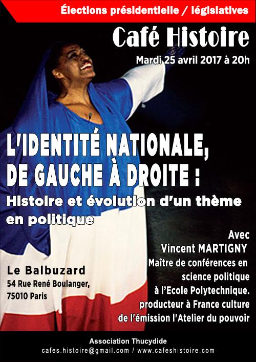L'identité nationale de gauche à droite - Café Histoire