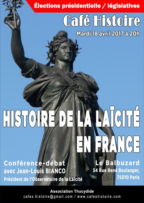 Histoire de la laïcité en France - Café Histoire