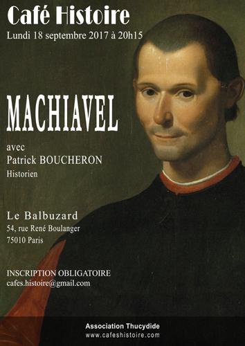 Café Histoire : Machiavel