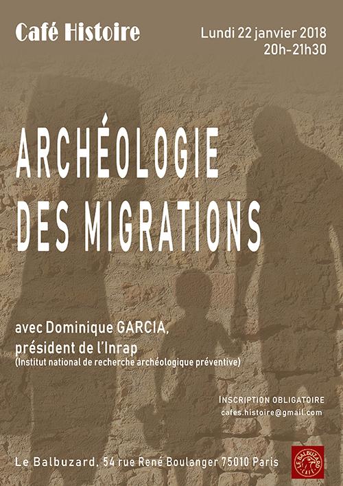 Archéologie des migrations - Café Histoire