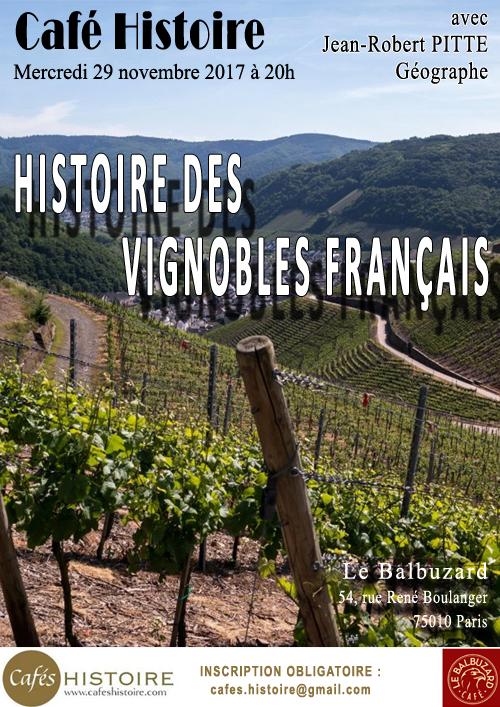 Histoire des vignobles français - Café Histoire