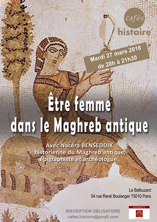 Être femme dans le Maghreb antique - Café Histoire avec Nacéra Benseddik