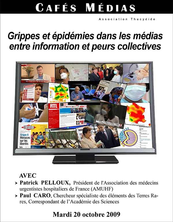 Café Actu Médias - Grippes et épidémies dans les médias : entre information et peurs collectives