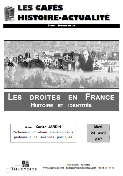 Les droites en France. Histoire et identités