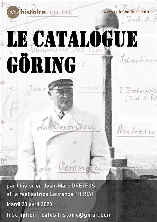 Le catalogue Göring - Café Histoire avec Jean-Marc DREYFUS