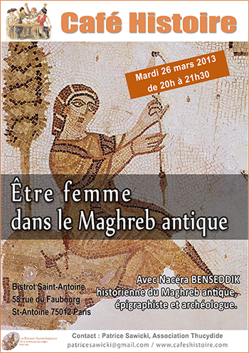 Café Histoire : Être femme dans le Maghreb antique