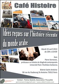 Idées reçues sur l'histoire récente du monde arabe - Café Histoire