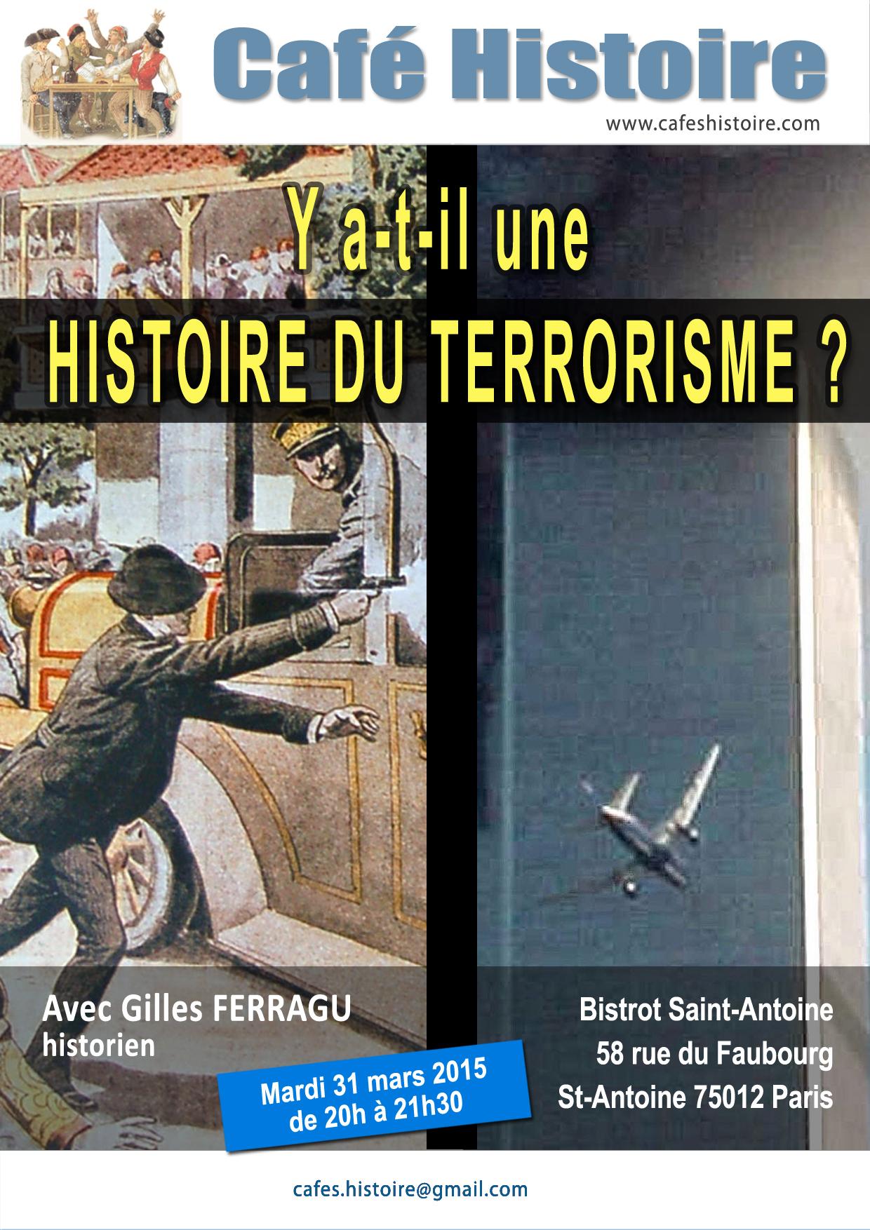 Histoire du terrorisme - Café Histoire