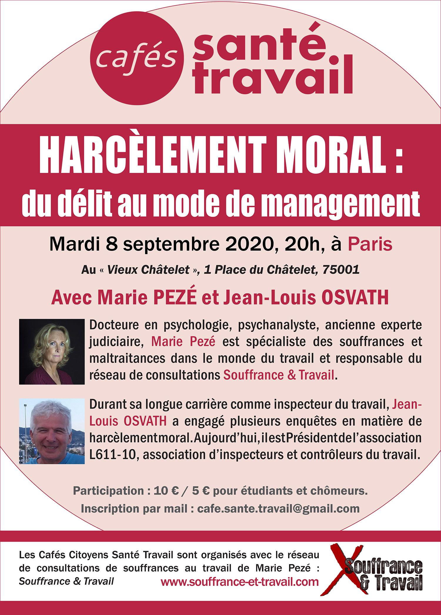Harcèlement moral : du délit au mode de management