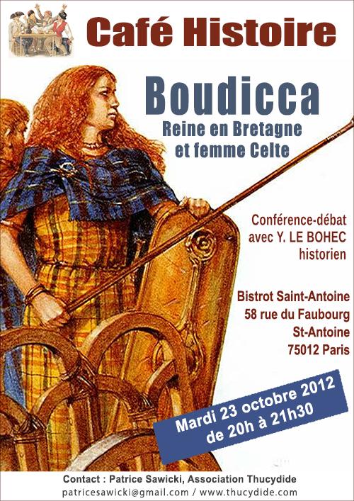 Café Histoire : Boudicca, reine en Bretagne et femme celte