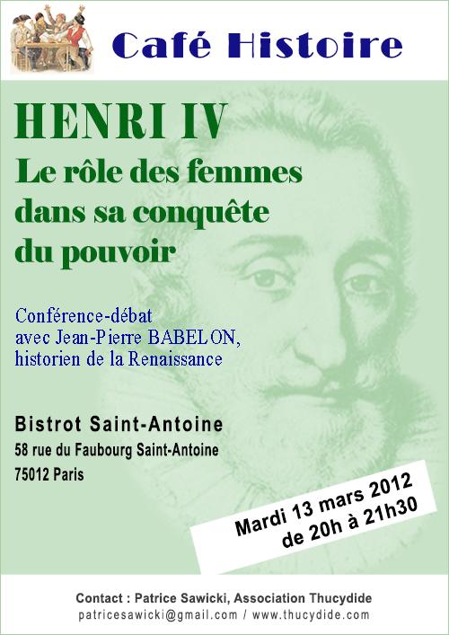 Henri IV : le rôle des femmes dans sa conquête du pouvoir