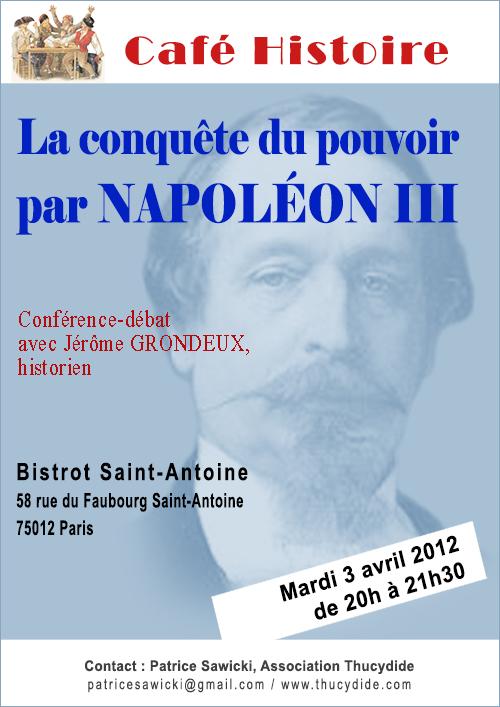 Les conquêtes de l'opinion et du pouvoir par Louis-Napoléon Bonaparte - Napoléon III