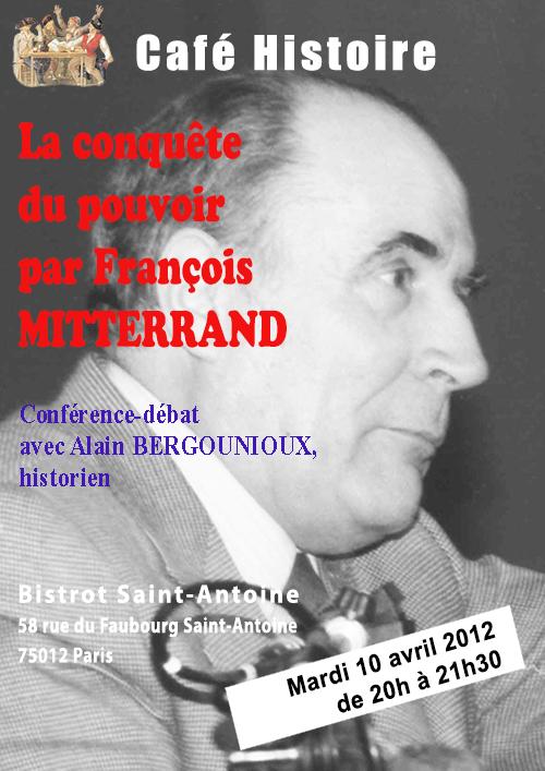 La conquête de l'opinion et du pouvoir par François Mitterrand