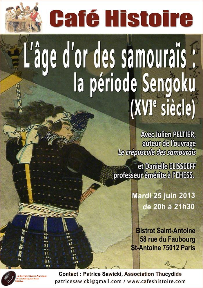 L'âge d'or des samouraïs : la période Sengoku (16e siècle) - Café Histoire
