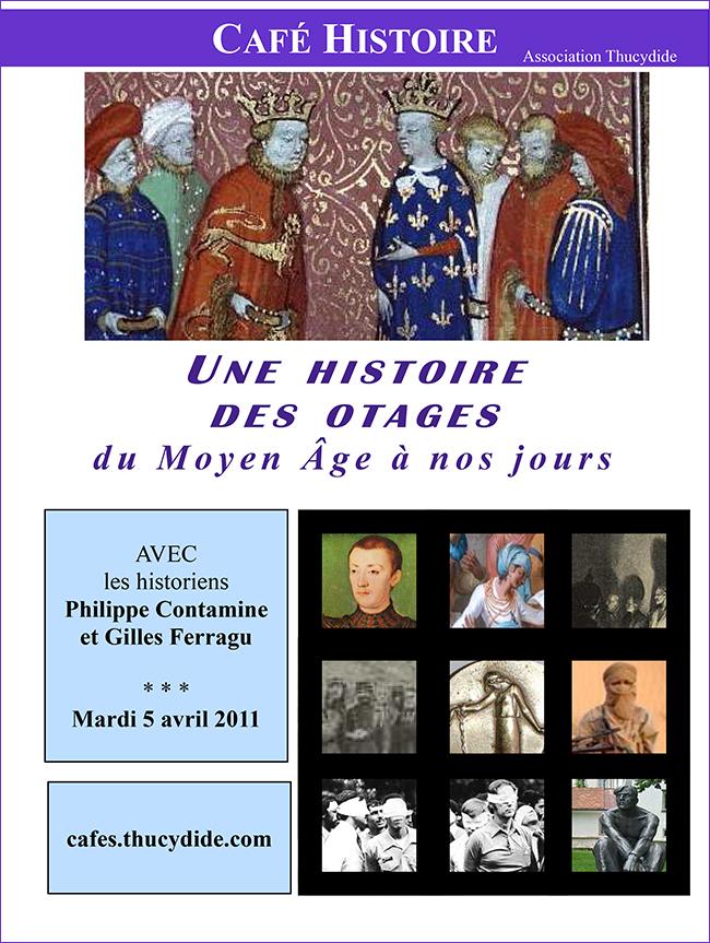 Une histoire des otages du Moyen-Age à nos jours - Café Histoire