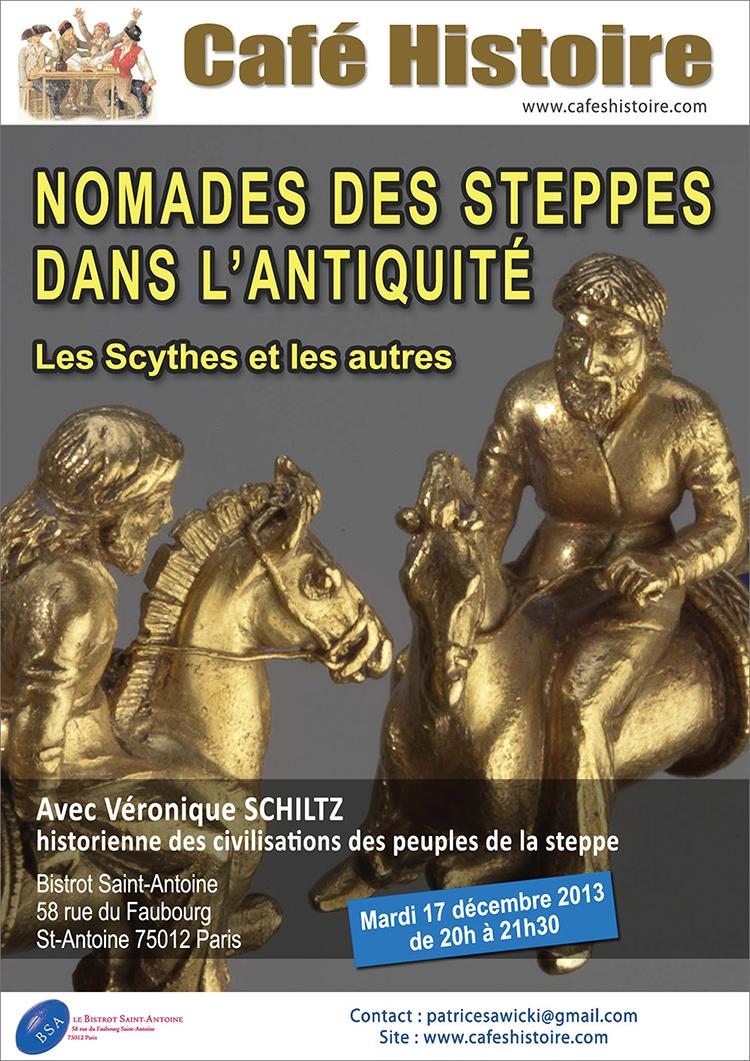 Nomades des steppes dans l'Antiquité : les Scythes et les autres