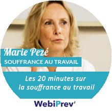 Webinaire de Marie Pezé sur la souffrance au travail