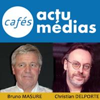 Café Médias - 60 ans de Journal Télévisé - Bruno MASURE, Christian DELPORTE